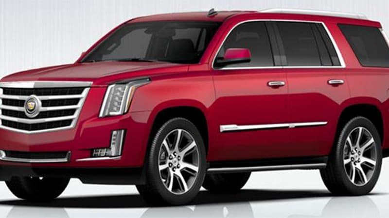 Cadillac reveals more 2015 Escalade details, launches colorizer