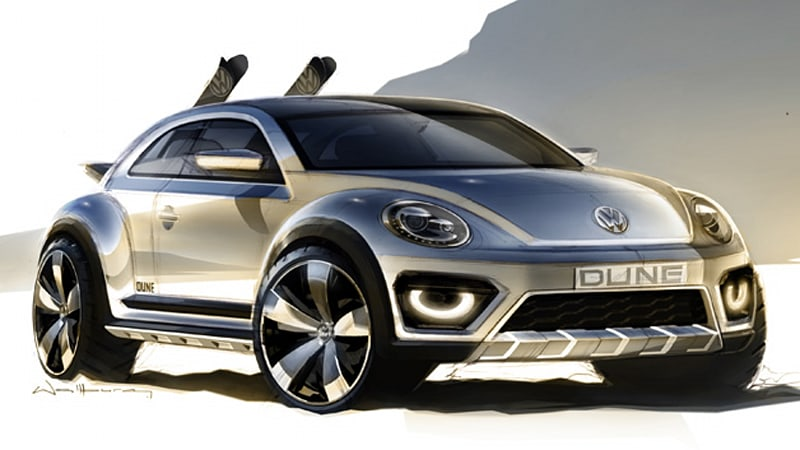 Vw Beetle Dune Concept To Debut In Detroit Autoblog