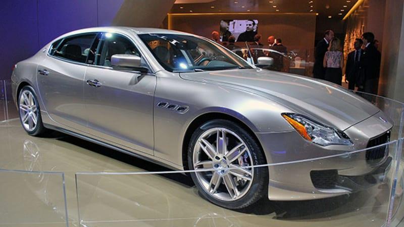 Maserati Quattroporte Suits Up With Ermenegildo Zegna Wvideo