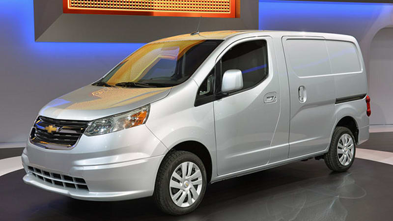 2015 chevy city express is something very familiar w video autoblog. Black Bedroom Furniture Sets. Home Design Ideas