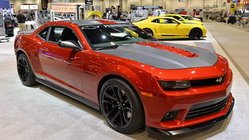 Chevrolet Camaros At Sema Are A Mobile Accessory Catalog