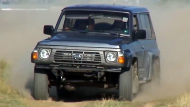 Skyline-powered Nissan Patrol shows Juke-R how it's done
