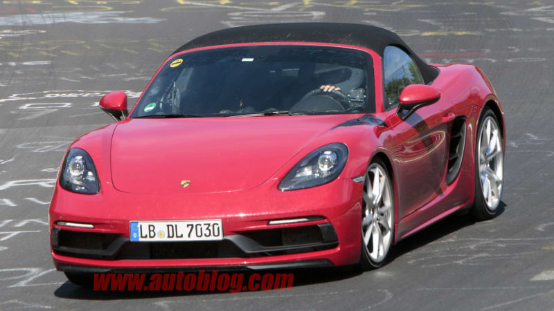 Porsche 718 Boxster GTS spied - should be a performance bargain