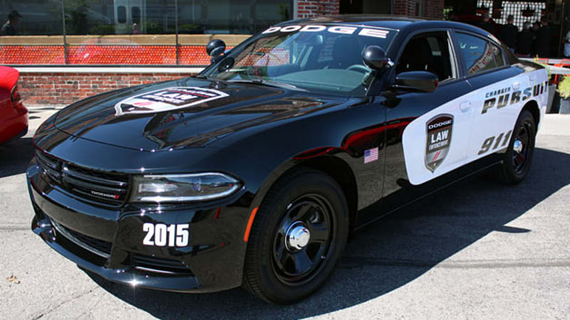 2015 Dodge Charger Pursuit Prepares To Keep Hellcats In