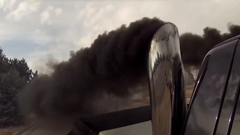 Rollin Coal A Dirty Subculture Among Diesel Truck Owners  Autoblog