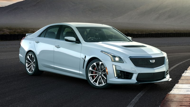 2018 Cadillac Cts V Gets Frosty With 115 Glacier Metallic Edition