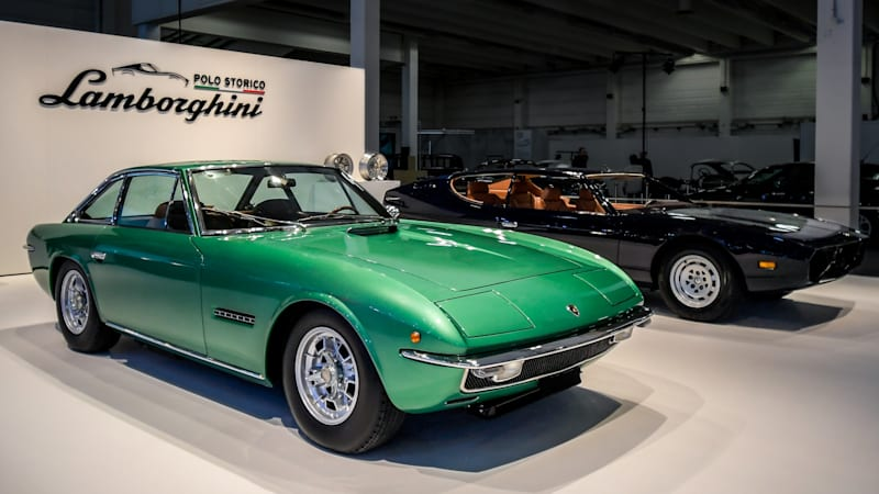 Lamborghini restores two 50-year-old classics to mark their anniversary