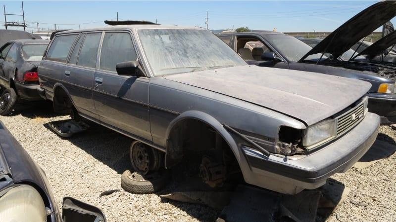 Junkyard Gem: 1986 Toyota Cressida Station Wagon