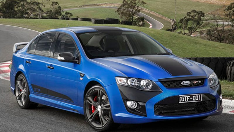 Ford Australia launches Falcon GT F 351, last of its line [w/video ...