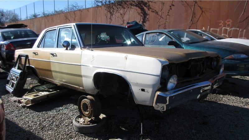 Junkyard Gem: 1975 Plymouth Valiant Sedan