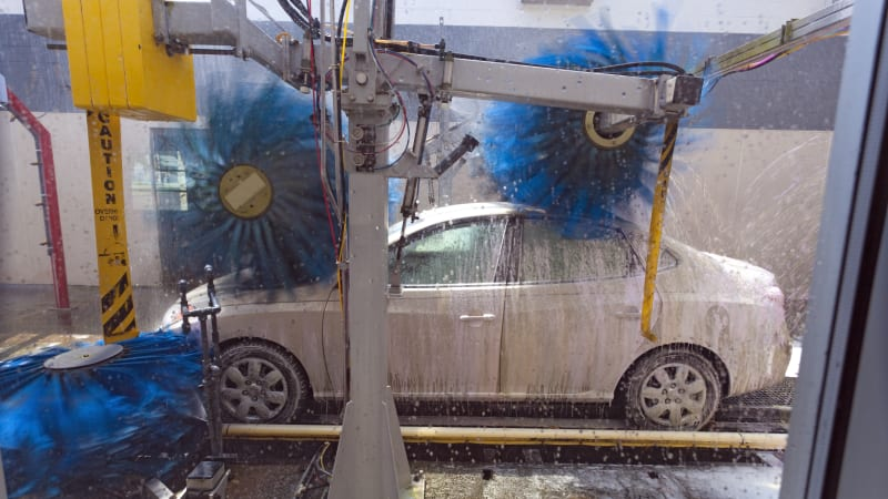 Automatic Drive Thru Car Washes Save Time And Hle But Are Safe For Your In Fact Many Instances They The Safest Course