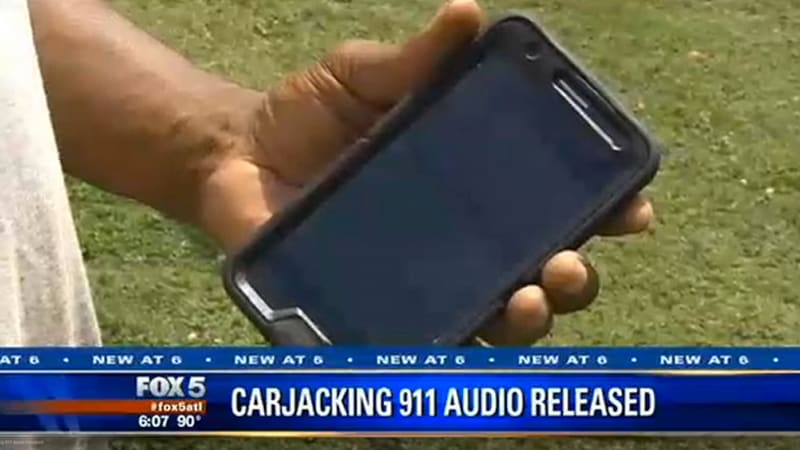 Hear this 911 operator delay response, debate caller about 'carjacking' vs. theft