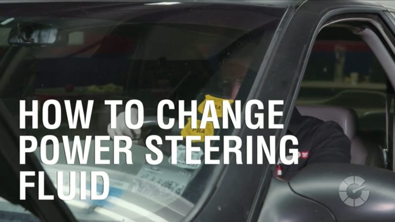 How To Change Power Steering Fluid | Autoblog Wrenched