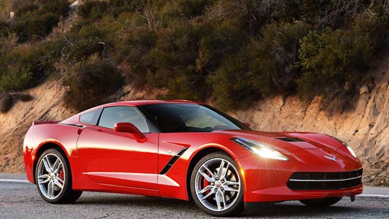 Chevy Corvette Stingray gets 8-speed auto for 2015 | Autoblog