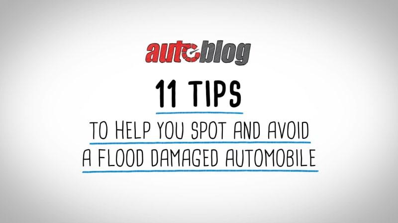 Wie man ein überschwemmtes Fahrzeug erkennt und vermeidet€