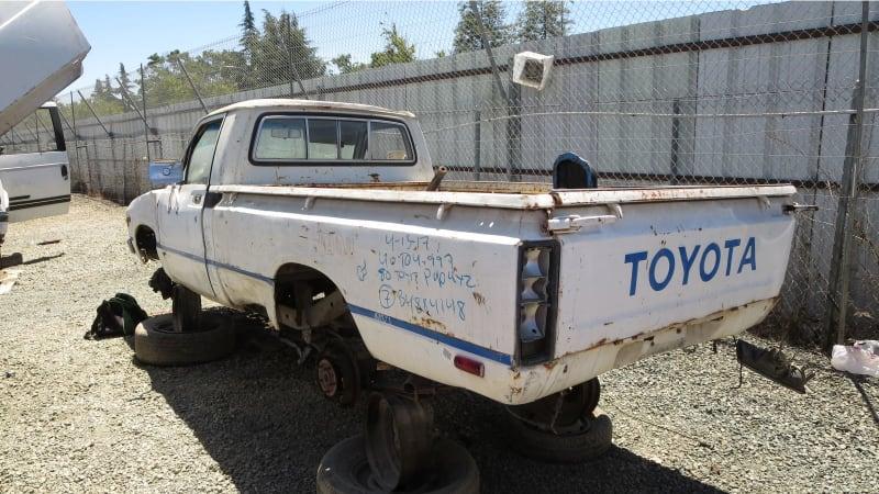 Junkyard Gem: 1980 Toyota Pickup Truck