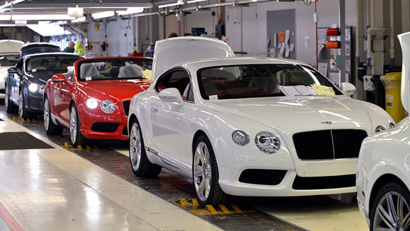 Bentley, Lamborghini consider foreign production [w/poll]