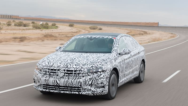 2019 VW Jetta Prototype First Drive Review   Autoblog