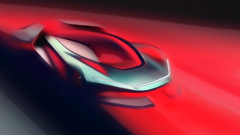 photo image Pininfarina teases its Tesla- and Bugatti-baiting EV supercar