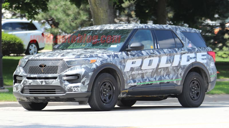 Ford Explorer Police Suv Aces Michigan Troopers Performance Tests Autoblog