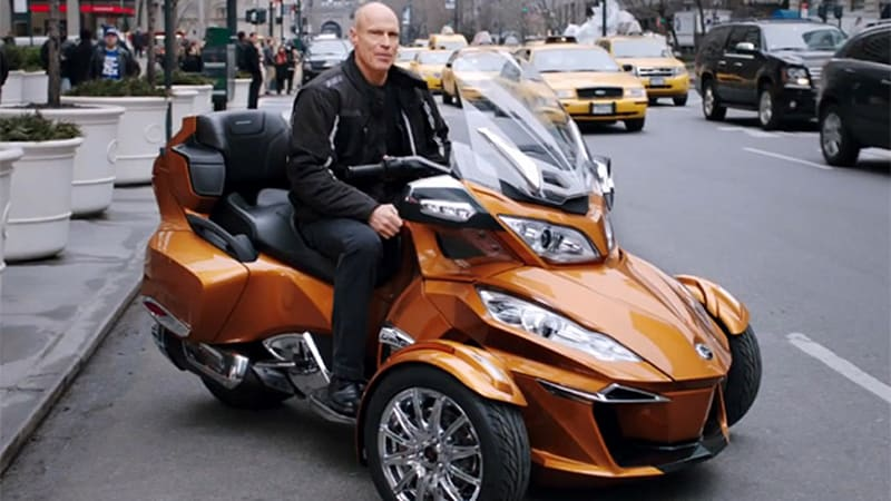 Can-Am Spyder gets Mark Messier's seal of approval