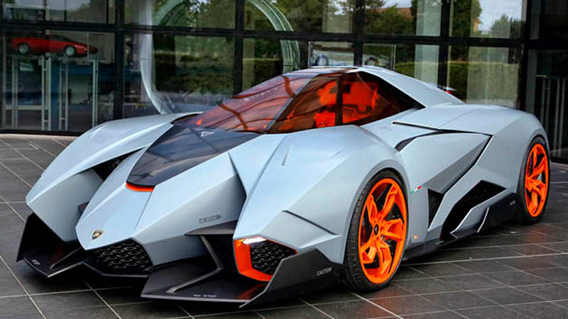 How many lamborghini egoista were made