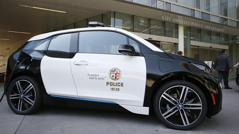 Lapd Will Get 100 Bmw I3 Electric Cars Autoblog