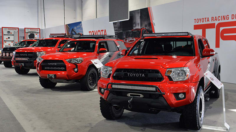 Toyota Trd Pro Chase Trucks Are Ready To Hit The Desert At