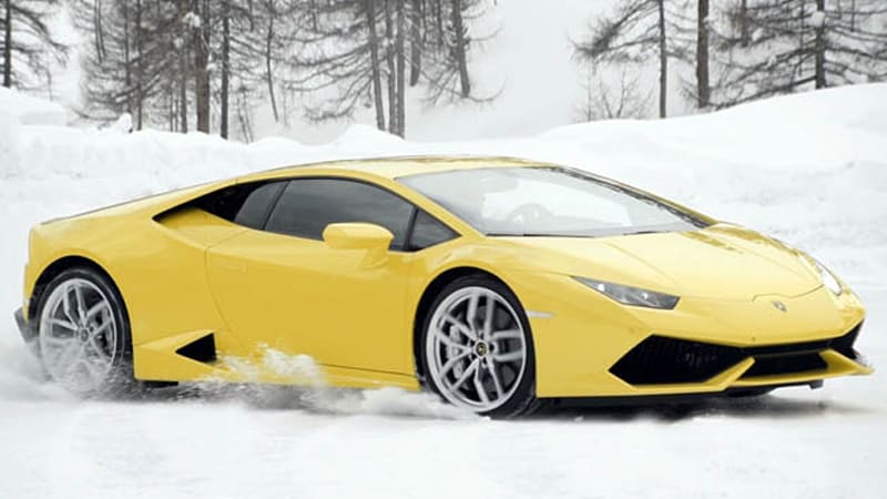Lamborghinis First Us Winter Accademia Should Be Snow Freaking Cool