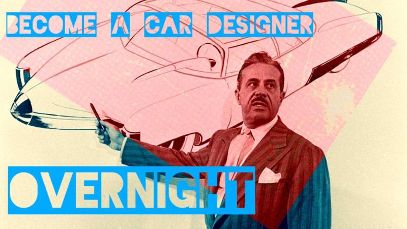 become a car designer overnight tactics to get started autoblog. Black Bedroom Furniture Sets. Home Design Ideas