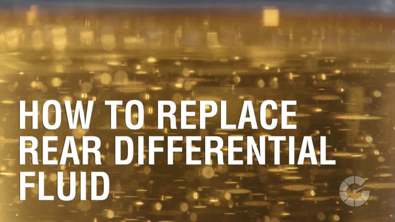 How To Replace Rear Differential Fluid   Autoblog Wrenched