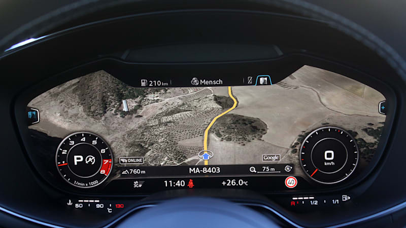 Audi A3 Gets Virtual Cockpit Next Year Autoblog