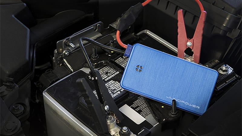 Smartphone battery backup that will jump start your car
