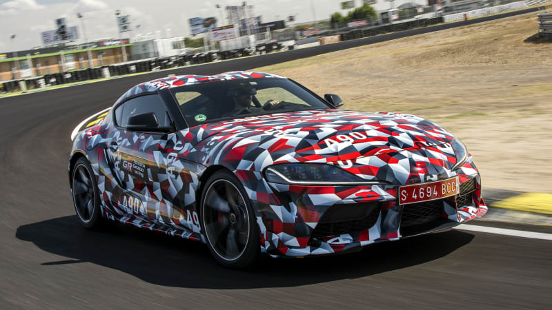 Toyota Supra and BMW Z4 development teams cut ties way back in 2014