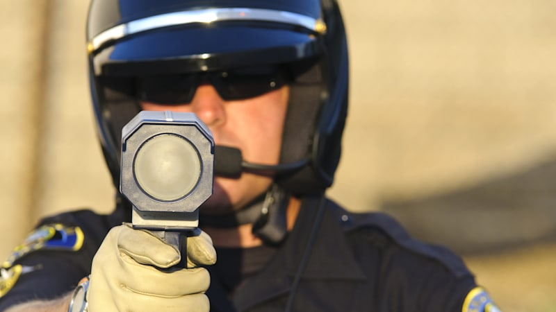 Speed Trap: What a Police Officer Uses to Catch You | Autoblog