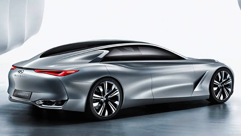 Infiniti Q80 Inspiration concept is bringing its sexy back to Paris