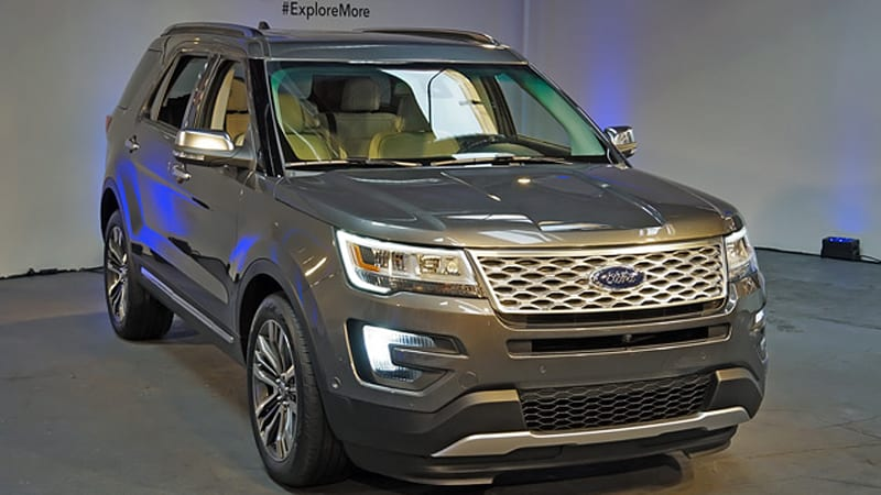 2016 Ford Explorer revealed with new 2.3-liter EcoBoost ...