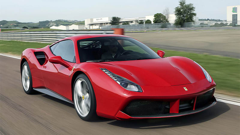photo image Ferrari hybrid V8 arriving next year, could power Ferrari SUV