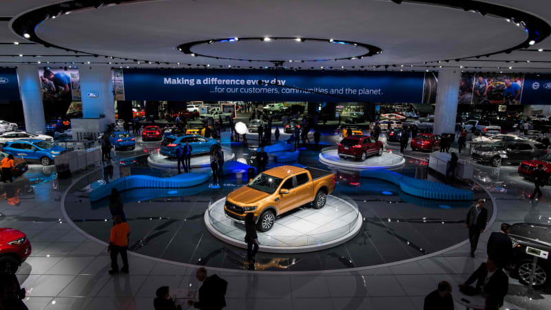 North American International Auto Show Date Change Challenges Autoblog - Car show detroit 2018