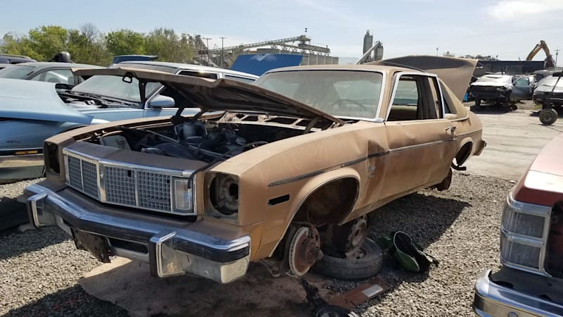 Junkyard Gem: 1977 Oldsmobile Omega Brougham Coupe