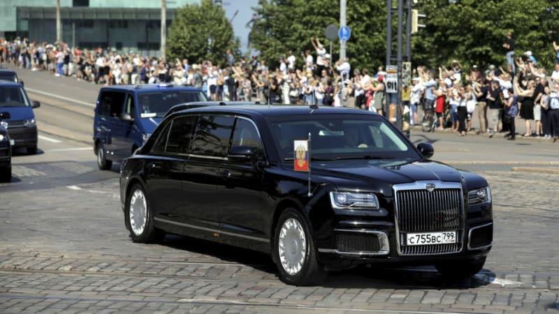 Putin S Limo In Helsinki Finland Autoblog