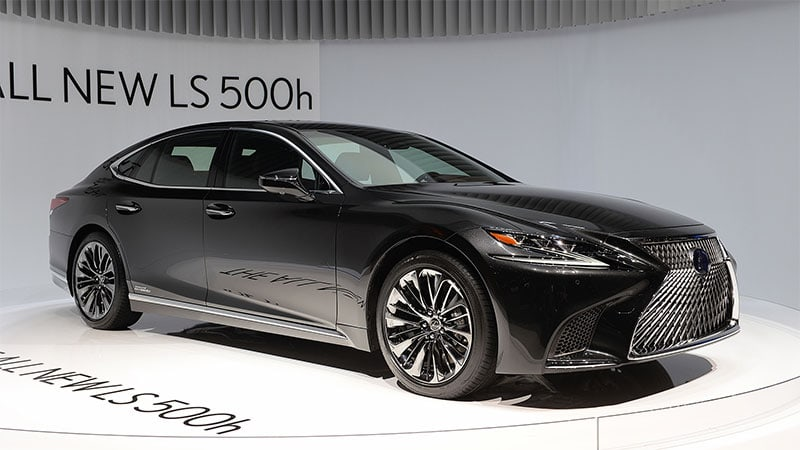 Lexus exploring PHEV, full EV and fuel cell versions of LS flagship
