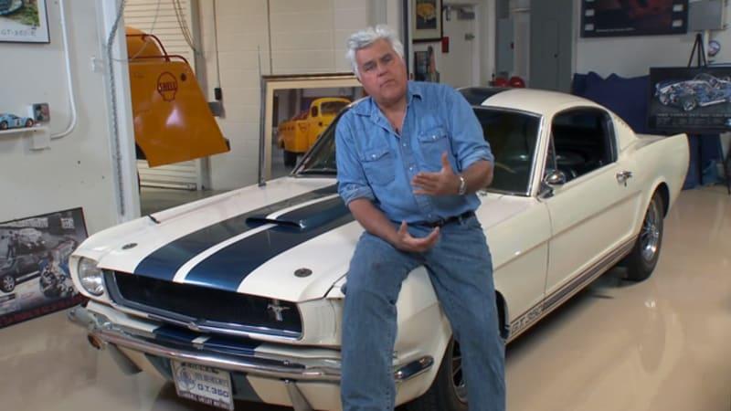 Leno chooses his top 10 Mustangs