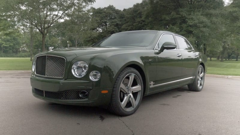 2015 Bentley Mulsanne Speed Video Review - Autoblog