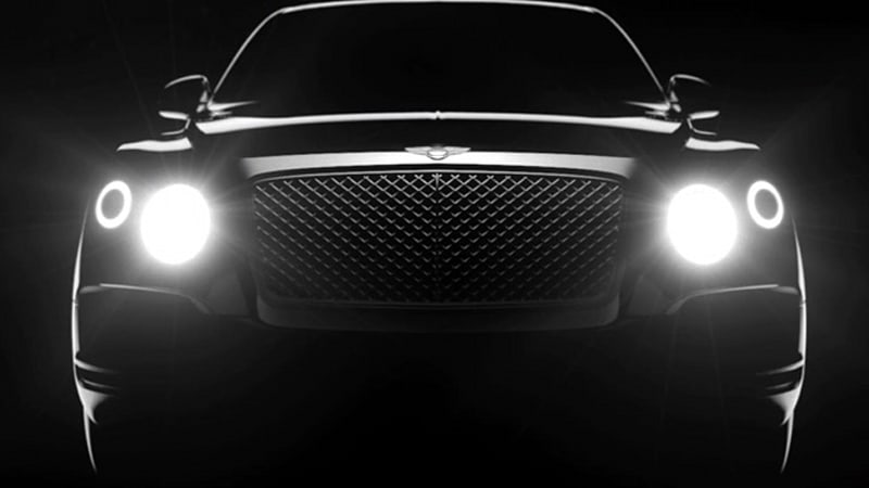 First Bentley SUV teased in video short