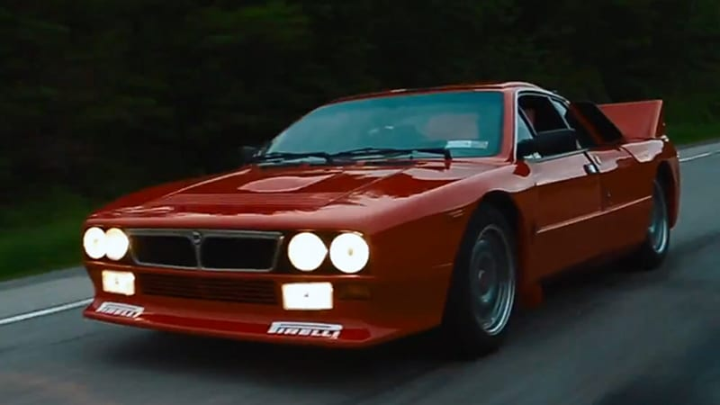 Take a spin in a street-legal Lancia Group B rally car ...