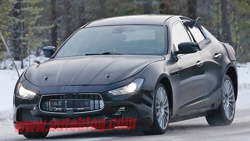 mysterious maserati test mule could be upcoming alfa romeo. Black Bedroom Furniture Sets. Home Design Ideas