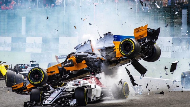 Formula 1 halo might have saved its first life | Autoblog