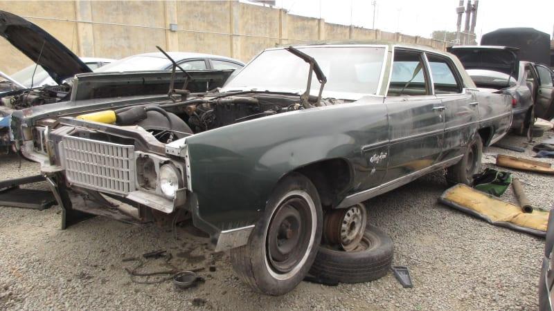 Junkyard Gem 1969 Oldsmobile Ninety Eight Luxury Sedan Autoblog