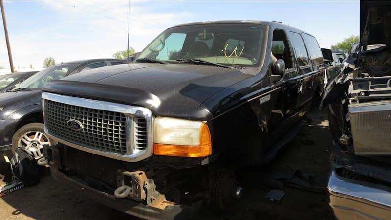 Junkyard Gem: 2000 Ford Excursion XLT